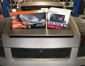 installation work precision car stereo 04