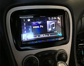 installation work precision car stereo 08