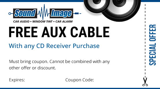 free aux cable coupon