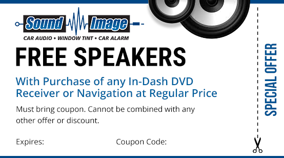 free speakers coupon